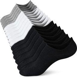 No Show Socks Women Low Socks Non Slip Flat Boat Line 4/8 Pairs | Amazon (US)