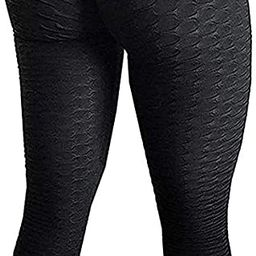 SEASUM Women's High Waist Yoga Pants Tummy Control Slimming Booty Leggings Workout Running Butt L... | Amazon (US)