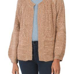 Cable Stitch Cardigan Sweater   Women   Marshalls   Marshalls