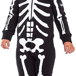 Tipsy Elves Halloween Black Skeleton Costume Jumpsuit for Babies and Toddlers   Amazon (US)