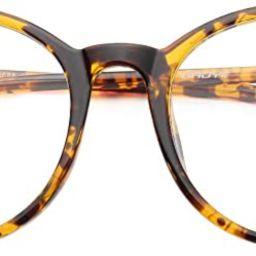 Gaoye Blue Light Blocking Glasses, Retro Round Eyewear Frame Anti UV400 Computer Glasses for Wome... | Amazon (US)