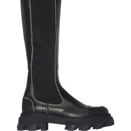 knee-high leather boots | Farfetch (UK)