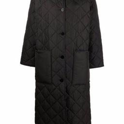 Sandler long-line quilted coat | Farfetch (UK)