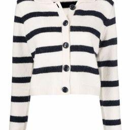 striped knit cardigan | Farfetch (UK)