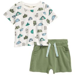 Easy Peasy T-Shirt & Shorts Set   Nordstrom