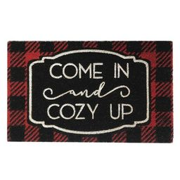 """Farmhouse Living Come In and Cozy Up Winter Holiday Coir Doormat - 18"""" x 30"""" - Elrene Home Fashio...   Target"""
