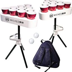 Versapong Portable Beer Pong Table / Tailgate Game with Backpack Carry Case and Balls | Amazon (US)