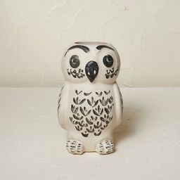 "9"" x 5.5"" Owl Vase Beige Tint - Opalhouse™ designed with Jungalow™   Target"