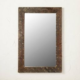 """24"""" x 36"""" Carved Wood Mirror - Opalhouse™ designed with Jungalow™   Target"""