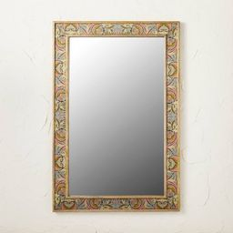 """24"""" x 36"""" Printed Fabric Mirror - Opalhouse™ designed with Jungalow™   Target"""