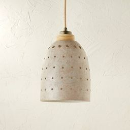Ceramic Cutout Pendant White - Opalhouse™ designed with Jungalow™   Target
