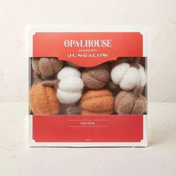 Felted Pumpkin Vase and Bowl Filler White/Orange - Opalhouse™ designed with Jungalow™   Target