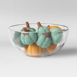 Felted Pumpkin Vase and Bowl Filler Green/Yellow - Opalhouse™ designed with Jungalow™   Target