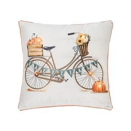"""C&F Home Happy Fall Led 18"""" x 18"""" Throw Pillow   Target"""
