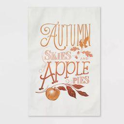 Cotton Apple Print Kitchen Towel - Threshold™   Target