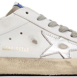 White & Grey Superstar Sneakers | SSENSE