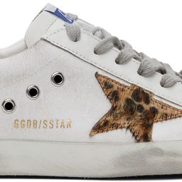 White & Green Super-Star Sneakers | SSENSE