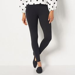 Girl With Curves Tall Ponte Leggings   QVC