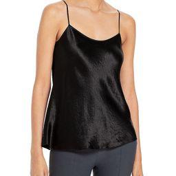 Satin Camisole, Black Cami, Black Camisole, Tan Cardigan, Cardigan Coat | Bloomingdale's (US)