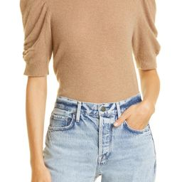 Frankie Puff Sleeve Cashmere Sweater | Nordstrom