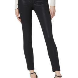 The Charlie High Waist Coated Ankle Skinny Jeans   Nordstrom