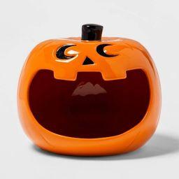 Ceramic Pumpkin Halloween Candy Dish - Hyde & EEK! Boutique™   Target