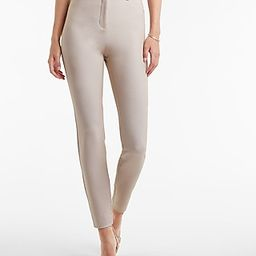 High Waisted Textured Skinny Pant   Express
