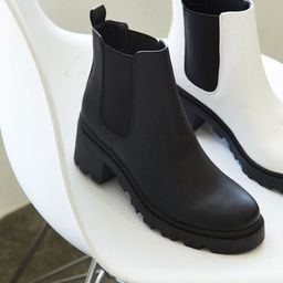 Faux Leather Chelsea Boots | Forever 21 (US)