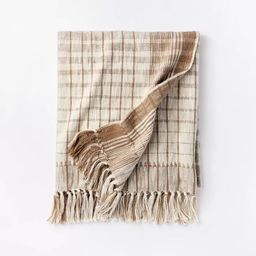 Woven Cotton Plaid Throw Blanket - Threshold™ designed with Studio McGee   Target