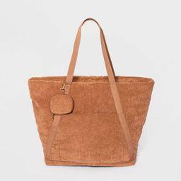 Tote Handbag - Wild Fable™ Tan   Target