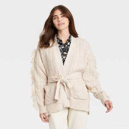Women's Cardigan - Who What Wear™ Cream   Target