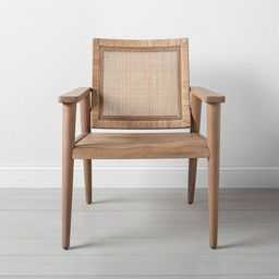 Wood & Cane Accent Chair - Hearth & Hand™ with Magnolia | Target