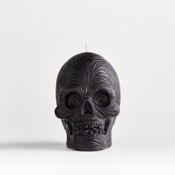PATCH NYC Scary Skull Candle + Reviews | Crate and Barrel | Crate & Barrel