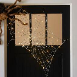 Lit Crystal Spider Web | Pottery Barn (US)