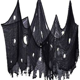 Halloween Creepy Cloth, Spooky Giant (40 x236 in.) Cheese Cloth Tapestry for Halloween Party Supp... | Amazon (US)