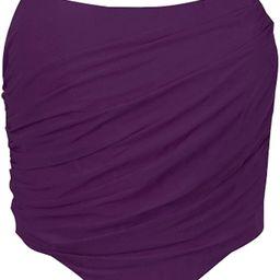 Modegal Women's Vintage Strapless Open Back Boned Mesh Bustier Zip Back Corset Bodyshaper Crop To...   Amazon (US)