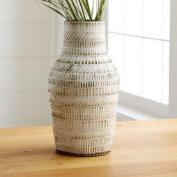 Lati Vase + Reviews | Crate and Barrel | Crate & Barrel