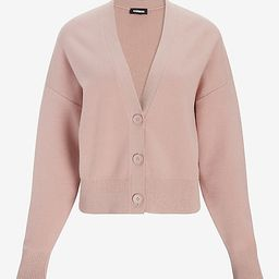 Relaxed Dolman Sleeve Cardigan | Express