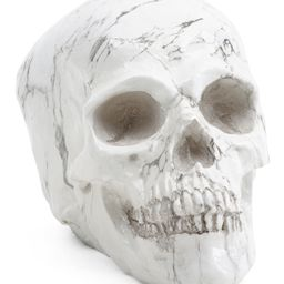 5in Marble Look Skull | TJ Maxx