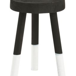 18in Wooden Stool With Dipped Legs | TJ Maxx