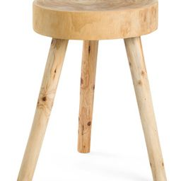 24in Wooden Accent Table | TJ Maxx