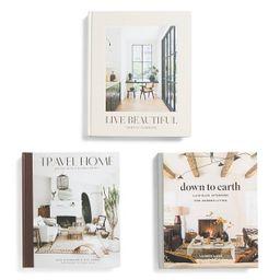 Set Of 3 Coffee Table Books | TJ Maxx