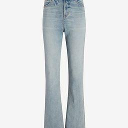 High Waisted Light Wash 90s Bootcut Jeans | Express