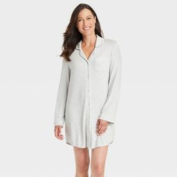 Women's Perfectly Cozy Nightgown - Stars Above™ Light Gray | Target