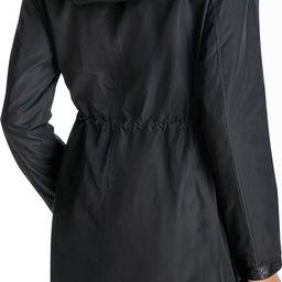 Water-Resistant Hooded Long Anorak Jacket | Nordstrom Rack