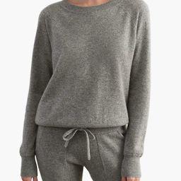 White + Warren Essential Cashmere Sweatshirt | Madewell
