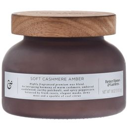 Better Homes & Gardens Gray Soft Cashmere Amber 18oz Scented 2-wick Candle | Walmart (US)
