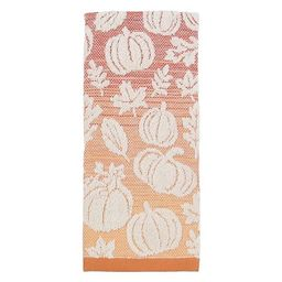 Celebrate Fall Together Ombre Pumpkin And Leaves Hand Towel   Kohl's