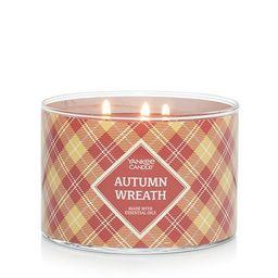 Yankee Candle Autumn Wreath 18-oz. Tumbler Candle Jar   Kohl's