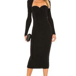 MISHA Tara Dress in Black from Revolve.com   Revolve Clothing (Global)